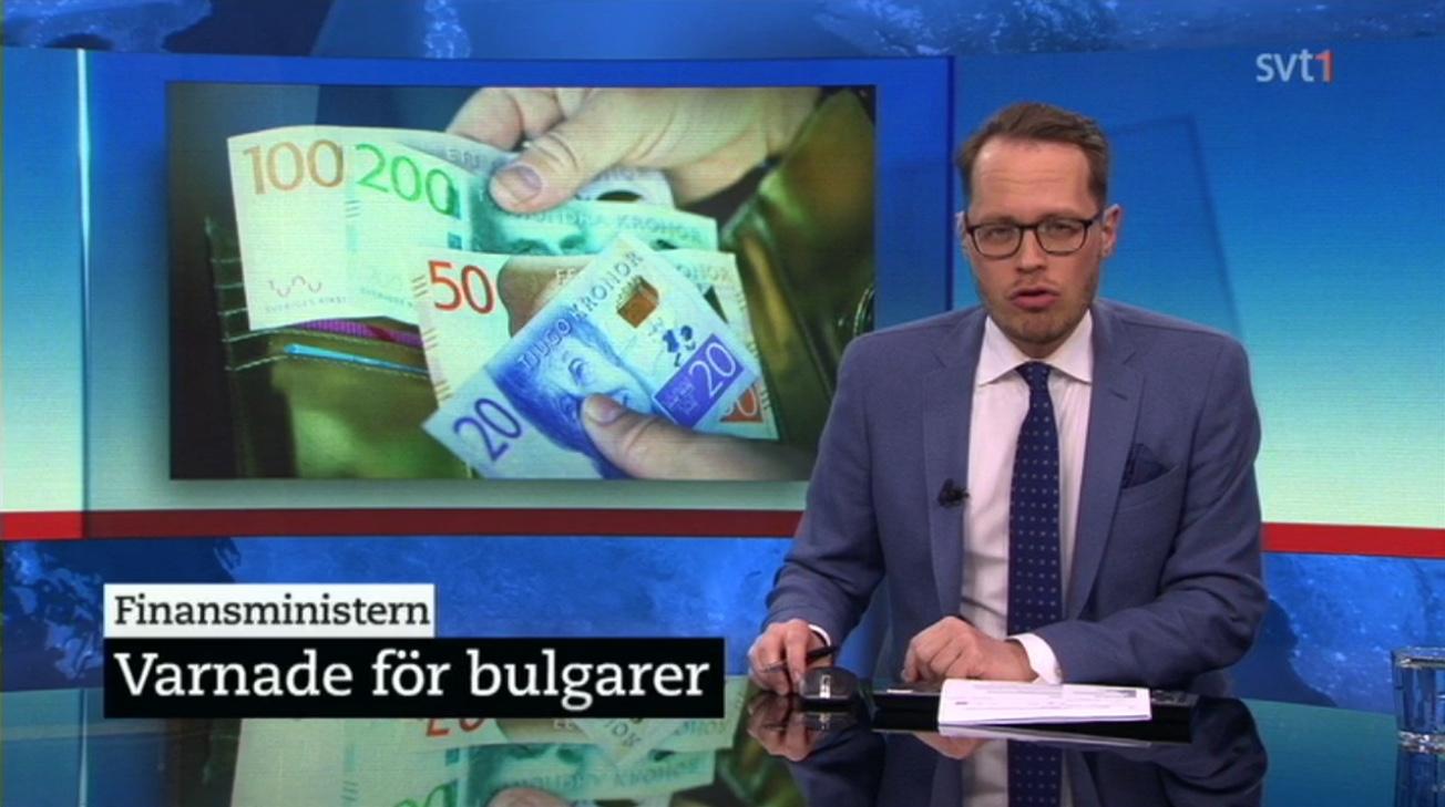 Socialdemokraternas Magdalena Andersson uttalade ett rasistiskt budskap i SVTs debatt 2015-12-21