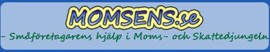Vad betyder Momsens? Den här sidan handlar om moms, skatter och bokföring för enskilda näringsidkare