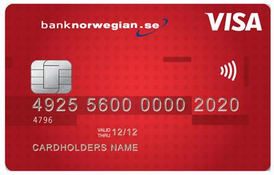 Klicka här för att få ett gratis kreditkort med fria uttag utomlands från Norwegian.