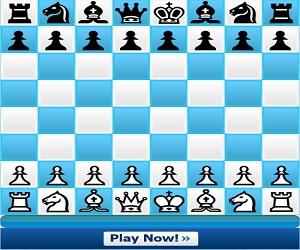 Juegos, Ajedrez. Juega al ajedrez con tus amigos en línea o contra un oponente humano al azar. Imagen del tablero de ajedrez digital.