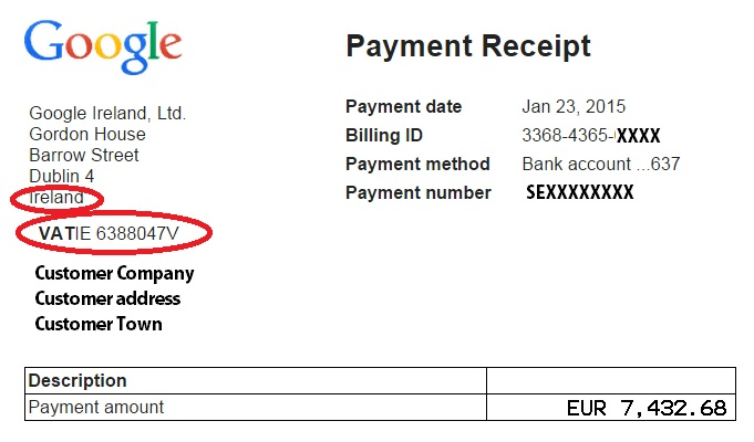 how to post adsense revenue accounting finance blog