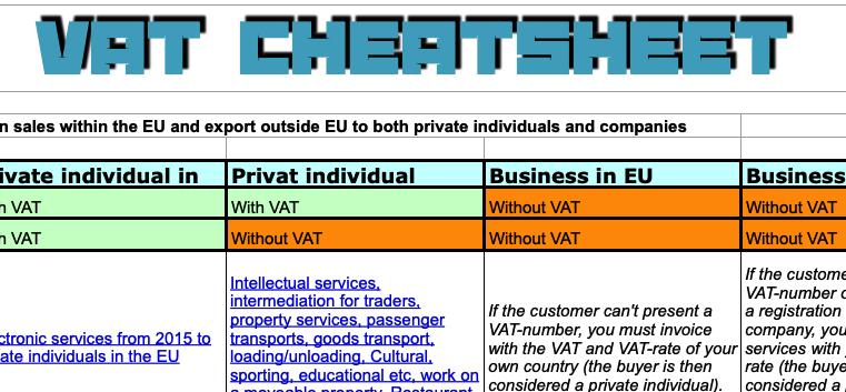 EU VAT system
