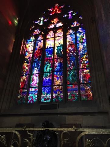 Bild från kyrka i Prag i Tjeckien.
