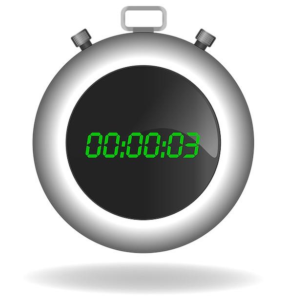 Klockor för att mäta tiden har uppfunnits av flera olika urmakare och uppfinnare men det typiska tidtagaruret anses vara skapat 1822 i Frankrike.